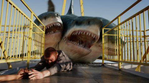 3-Headed Shark Attack