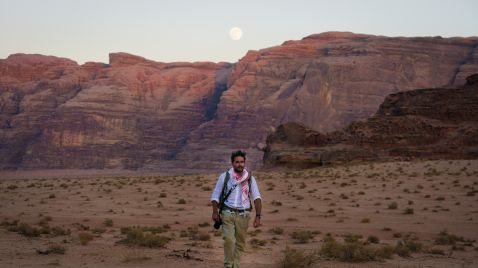 Levison Wood in Arabien |