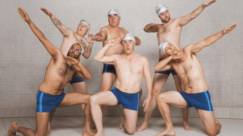 Swimming with Men |